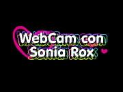 rox sonia con Webcam