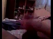 Толстая баба трахает худой мужик видео