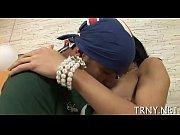 Секс азиатки ласкание груди языком