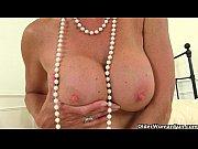 toy sex her with plays tori milf British