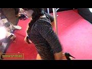 Hot brunette babe fist ...