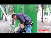 Русские тётки трахаются на природе