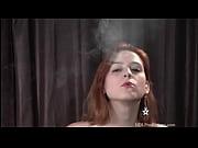 addie juniper - smoking fetish at dragginladies