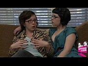 Женщины в халатике на голое тело видео