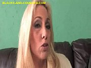 Blonde MILF Shows Her Sucking Ability