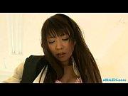 オフィスレディ 爆乳T型パンティーオフィスレディを着衣テマン責め 日本人ビデオ