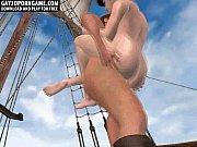 tesão capitão dos desenhos animados 3d que começa fodido duramente no ânus