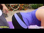 Видео халат на голое тело