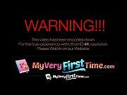 Picture MyVeryFirstTime - Nervous Jade Jantzen has h...