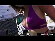 С большими бедрами женщины на кастинге в порно видео