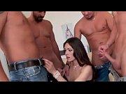 brunette hard anal gangbang-www.camslutsonline.com