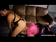 Facesitting Masturabtion Using her Slave
