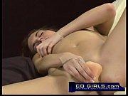 amateur girl cali uses her vibrator to masturbate