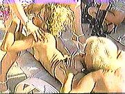 Mila Shegol eats Kimberly Jade's asshole and pussy