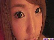 (モザ無ムービー)杏樹紗奈 超可愛いセイフク美今時女子校生がディルドおなにーした後にフェラチオでざーめん口出しwww