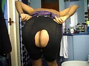 dscn3786.avi me, crossdresser, showing my butt