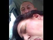Сосет в машине видео из самары