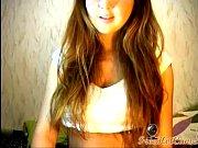 Webcam girl stripping
