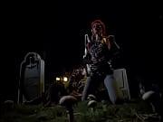 return of the living dead graveyard striptease