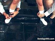 【縛り】セーラー服にブルマ体操着の女子校生が縛り拘束され蝋燭(ロウソク)SMプレイ!