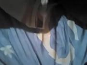 Сквирт через трусики сидя на лице