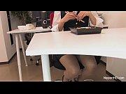 【無修正】食事中のOLにフェラを懇願⇒口内発射www