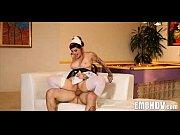 Блондка Cintia Santos в порно с качком
