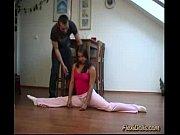 flexible doll gets dildo deep