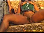 Ebony gets spanked and fingered