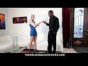 TeensLoveBlackCocks - Blonde Teen Fucks Black C...