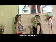Лезбиянки подглядывают друк за другом