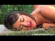 Порно с брюнеткой анал