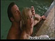 kelly carlson wet sex scene in indoor pool