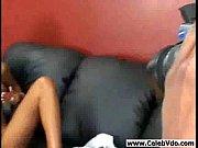 Very cute ebony chick banging