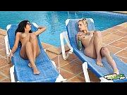 Orgía en la piscina de Salma - Massive orgy in ...