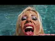 Picture Euro babe Puma Swede Fucks Herself by the Pool