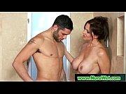 Смотреть как жена заставила мужа сосать у любовника
