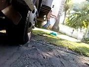 Трахнуть на улице скрытая камера видео