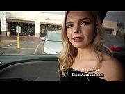 Blonde Teen Ambushed by...