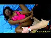 Busty Ebony Whore Gangb...