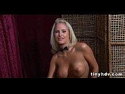 Big tits lesbian pussy dildo