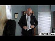 Тощую секретаршу ебет начальник