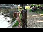 Denisa - Sweet Redhead Babe Naked In Public Str...