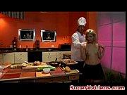 chef comendo sua namorada & # 039_s hot pussy