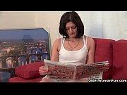 Секс с длинноногой блондинкой в чулках порно видео