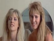 barbara crampton and kathleen kinmont posing nude in a movie
