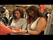 レズビアンビアンでかぱい店員が試着室でお客に迫っちゃいます! 【巨乳】