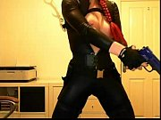 Видео культуристка делает миньет мужику на руках