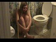 Русская рыжая девушка в купальнике