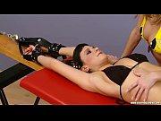 Ticklish Katherine tied to Rack (czechticklishg...